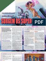 3D&T Alpha - Surgem Os Super-Heróis