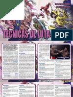 3D&T-M&M - Técnicas de Luta