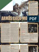 Adaptação - Armas de Monster Hunter