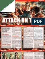 Adaptação - Attack on Titan