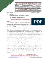 20210123-Mr G. H. Schorel-Hlavka O.W.B. to Donald J Trump Jr-Presidential Legality, Brendan Hunt,Etc