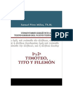 1a. y 2a. Timoteo,Tito y Filemón- Samuel Pérez Millos