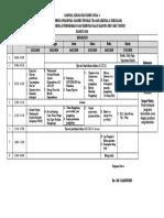 jadwal KMD ZONA 4