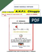 Notiziario ANPI n.64 - gennaio 2021