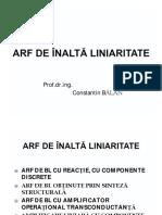 0 4 ARF LINIARE