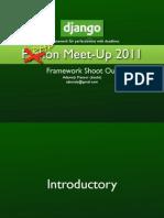 Django/Python Framework