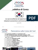 Focus Paese Corea Del Sud