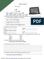 evaluare clasa 2