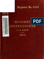 Gunnery Instructions USN 1913