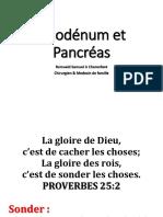 L2- Duodenum et Pancreas _ Cher