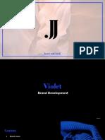Final Violet Brand Development