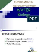 d. Water Biological Properties