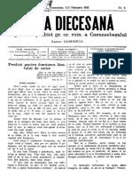 Foaia Diecesană Februarie 1895