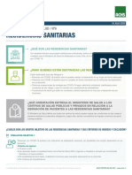 6 RESIDENCIAS SANITARIAS F6