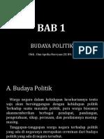 Dini Aprilia Norvyani - XI IPA 1 - BAB 1 Budaya Politik