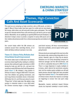 Review of EM Themes High Conviction Calls and Asset Scorecards