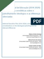 Plano Nacional de Educação - Considerações Omniléticas