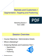 Analyzing Customers and Markets 1