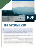 Xayaburi Dam Factsheet