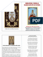 Origen y Coronilla Niño De Praga