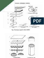 Formarea ambalajelor metalice
