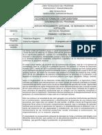 Informe Programa de Formación Complementaria (340h