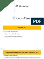CareerCarve GD Workshop