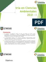 PROCESO DE ADMISION 2021-I