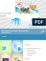 Burson-Marsteller 2011 Global Social Media Check-Up (Feb 11)