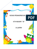 GUIAS PEDAGOGICAS 4TO GRADO