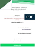 Caracteristicas de Ley de Compañias y de Economia Popular y Solidario