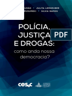 Polícia,Justiça e Drogas(Livro)