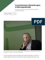 Lara Resende_ Por que Summers e Bernanke agora defendem política fiscal expansionista _ Eu & _ Valor Econômico