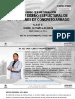 Diplomado Estructuras_Clase III_Diseño Vigas a Flexión