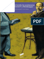 Emmanuel Levinas - Descubriendo La Existencia Con Husserl y Heidegger (2005, Síntesis) - Libgen.lc