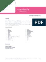 Coorva Resume - Juan G