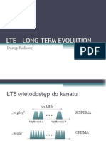 LTE – LONG TERM EVOLUTION