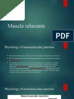 4.Muscle relaxants