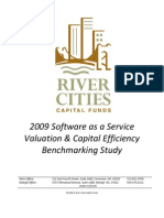 SaaS Valuation & Capital Efficiency Benchmarking Study (2009)