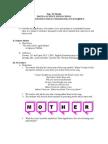 Lesson Plan for Final Demonstration Teaching