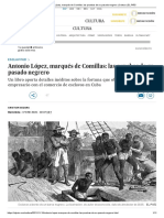Antonio López, Marqués de Comillas_ Las Pruebas de Su Pasado Negrero _ Cultura _ EL PAÍS