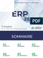 ERP 2020 - Cahier Des Charges