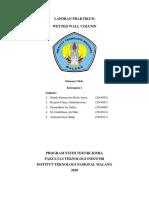 Kelompok 1 Praktikum Perpindahan Panas_Alih Jenjang Teknik Kimia Kelas Karyawan_ Laporan Praktikum Bab 2. Wetted Wall Column+ (1)