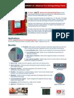 Acclaim Series 10 Fire Extinguishing Panel