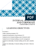 Chapter 3 - IA and Corporate Governance STDT