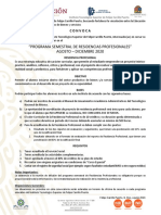 CONVOCATORIA RP AGO-DIC 2020