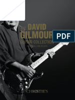 The David Gilmour Guitar Collection Catalog [Christie's]