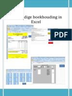 Handleiding Excel Administratie