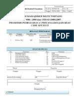 PK-FAC-04 (SOP Pembayaran  Pertanggungjawaban Cash Advance)