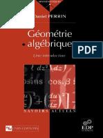 7 Géométrie Algébrique Une Introduction Daniel Perrin